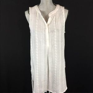 Knox Rose High Low Tunic Top Blouse Sleeveless